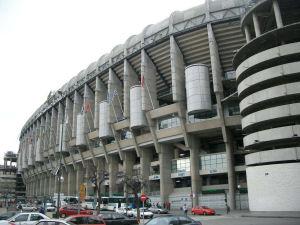 サンティアゴ・ベルナベウ・サッカー競技場