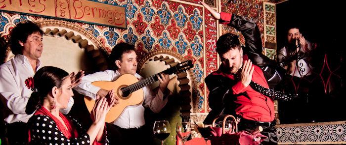 タブラオ・フラメンコ・トーレス・ベルメハス・マドリッド ショー Tablao Flamenco Torres Bermejas