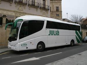 アウトカーレス・フリア バス会社・マドリード