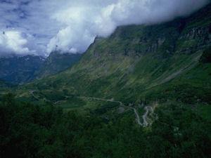 アストゥリアスの山の風景