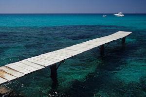 フォルメンテラの海