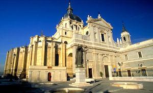 マドリッドアルムデナ大聖堂