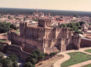 セゴビアのコカ城